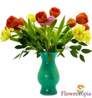 Arco Iris de Tulipanes Bouquet de Tulipanes in Miami, FL | FLOWERTOPIA