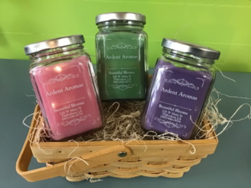 Ardent Aromas Candle Gift Basket