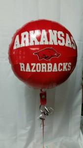 Arkansas Razorbacks Mylar Balloon