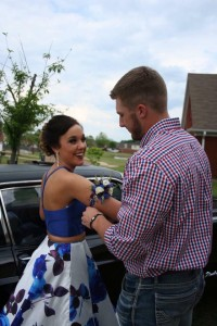 arm band corsage