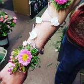 Arm Corsage Body flowers