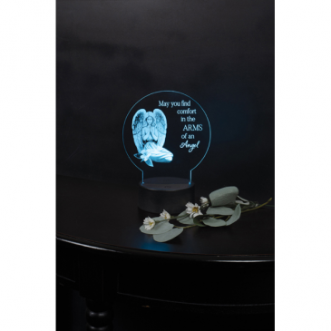 Arms of an Angel LED Plaque