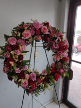 aro abierto funeral # 4 corona funeral