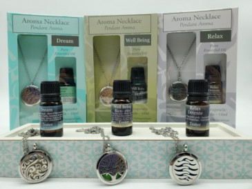 Aroma Therapy Necklace Giftware