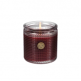 French Mulberry - Textured Glass Candle Aromatique