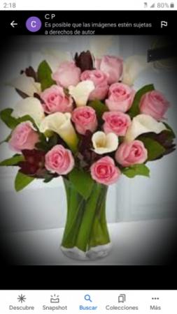 arrangement # 2 rosas y calas