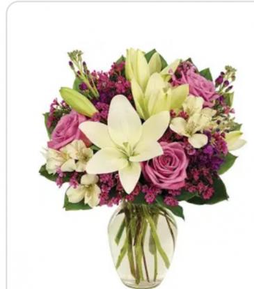 arrangement # 4 rosas