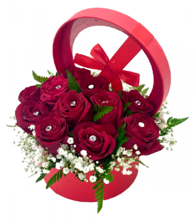 Mother in Luxury Boxed Roses