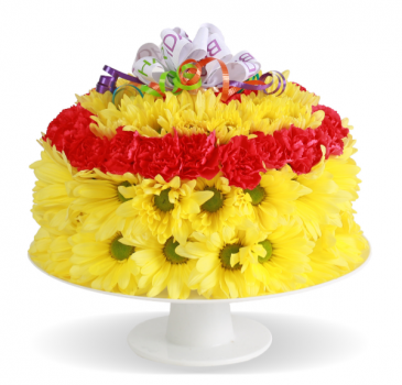 Arrangement Birthday Cake