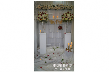 Arrangement for wedding