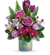 Art Glass Garden Bouquet Teleflora
