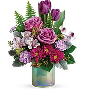 Art Glass Garden Bouquet Teleflora