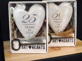 Art Hearts milestone anniversary art hearts in Milton, Florida | PURPLE TULIP FLORIST INC.