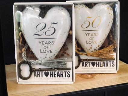 Art Hearts milestone anniversary art hearts