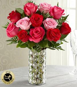 Art Of Love Vase Arrangement