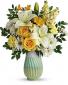 As Good As Gold Flower Arrangement