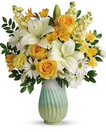 .Art of Spring Bouquet