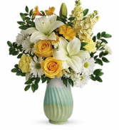 Art Of Spring Bouquet Vase Arrangement