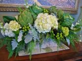 Artichokes Cabbages & Festive Greens