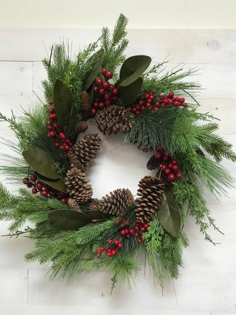 Artifical wreath green Artifical