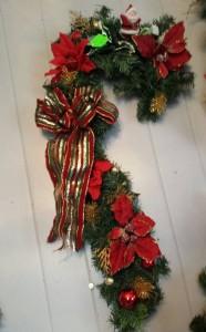 Artificial Christmas Candy Cane Artificial