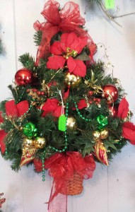 Artificial Wall Christmas Tree Artificial