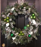 ARTIFICIAL CHRISTMAS WREATH HOME DECOR