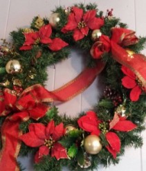 Artificial Christmas Wreath Large Artificial