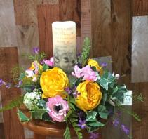Artificial Eternal Flame arrangement  Slik