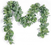 Artificial Eucalyptus Garland with Willow Leaves,