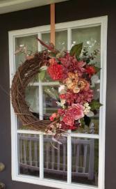 Artificial Fall Wreath