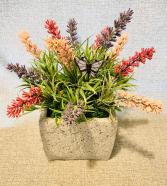 Artificial Lavender Field