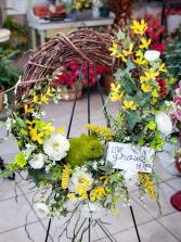 Artificial Spring Wreath