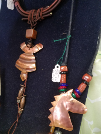 Artisan Copper Necklace Gift
