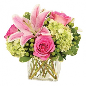 Artisan Spring Blossoms Arrangement in Croton On Hudson, NY | Cooke's Little Shoppe Of Flowers