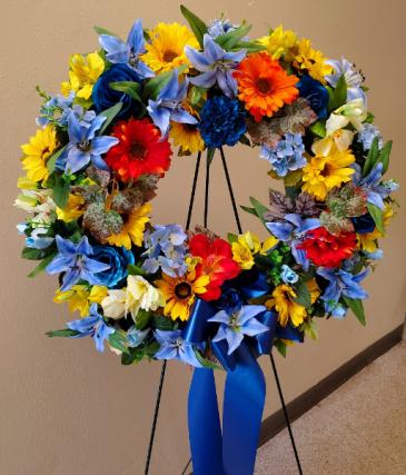 Artisan Wreath by Darlene