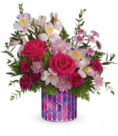 Artisanal Appreciation All-Around Floral Arrangement