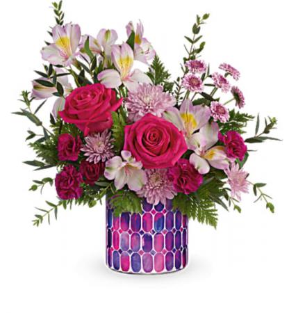 Artisanal appreciation Bouquet  Vase