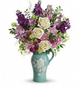 Artisanal Beauty Bouquet Vase arrangement in Newton, MA   BUSY BEE FLORIST