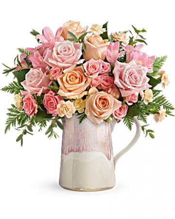 Artisanal Blush  Bouquet