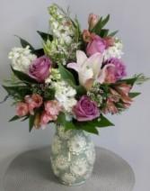 Artisanal Spring Floral Bouquet