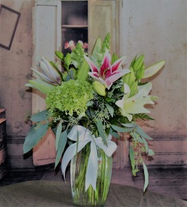 Whispering Lilies Romance and Lilies in Stevensville, MT | WildWind Floral Design Studio