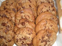 DOZEN CHOCOLATE CHUNK COOKIES! USUALLY AVAILABLE DAILY NEED 30 HOUR NOTICE(call before ordering for same day)SELECT 25.00 FOR A DOZEN OR 12.50 FOR A HALF DOZEN