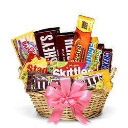 Assorted Candy Basket  Gift Basket