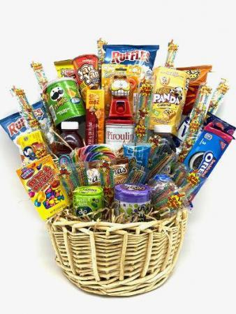 Assorted Candy baskets