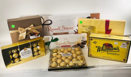 Assorted Chocolates Local, fresh chocolates (Add-on)
