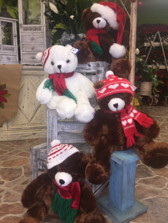 Assorted Christmas Bears