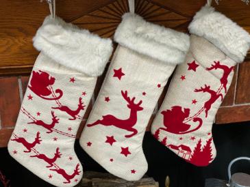 Assorted Christmas Stocking Gift Item