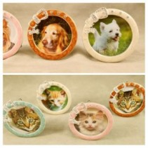 Assorted Dog and Cat Picture Frames