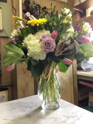 Assorted fresh floral vase Everyday in Peconic, NY | Country Petals and Greenport Florist